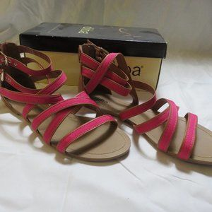 Diba Sally Pink Sandals NWB